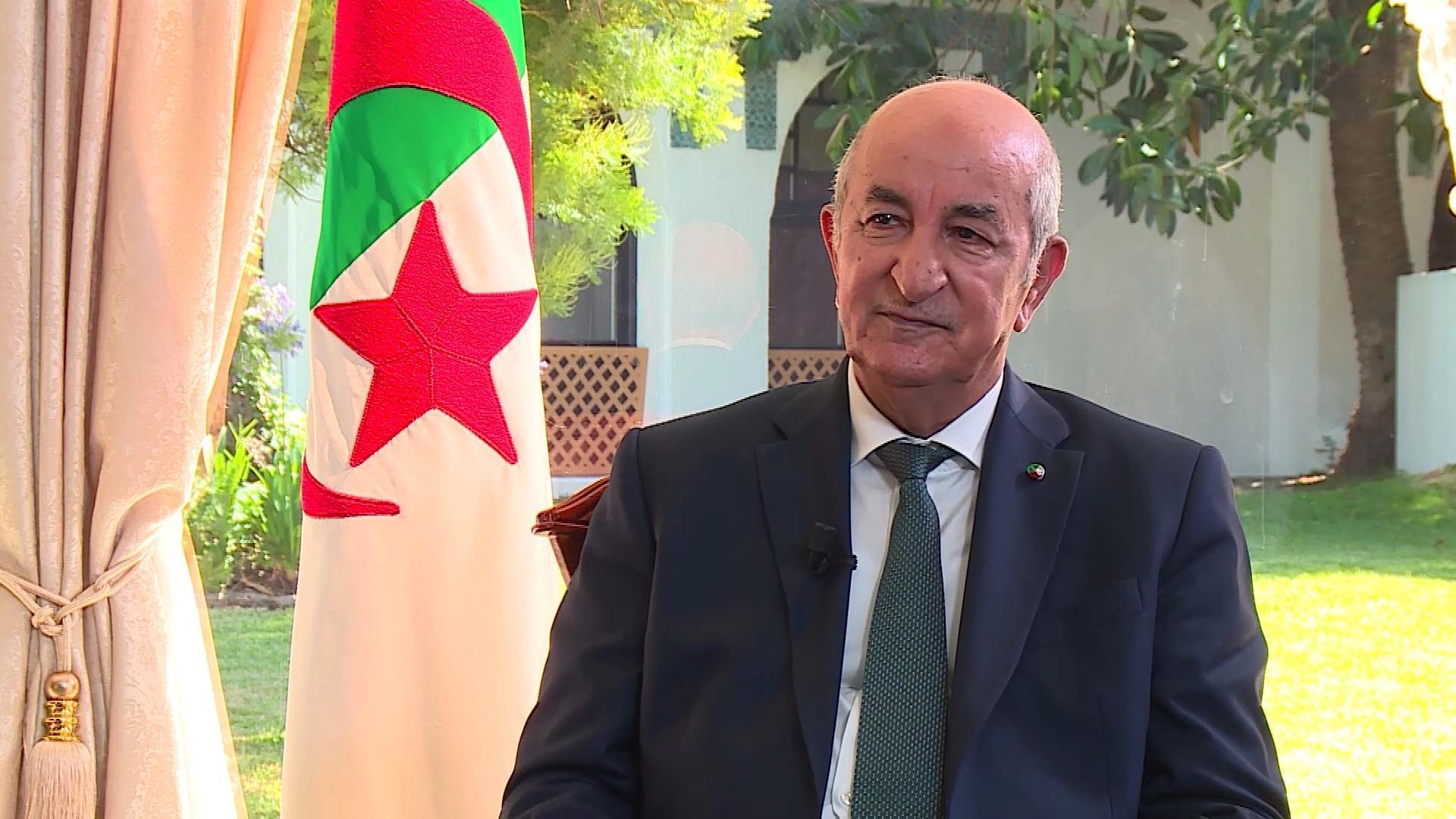 """مداخلة """"غريبة"""" من الرئيس الجزائري ضد المغرب"""
