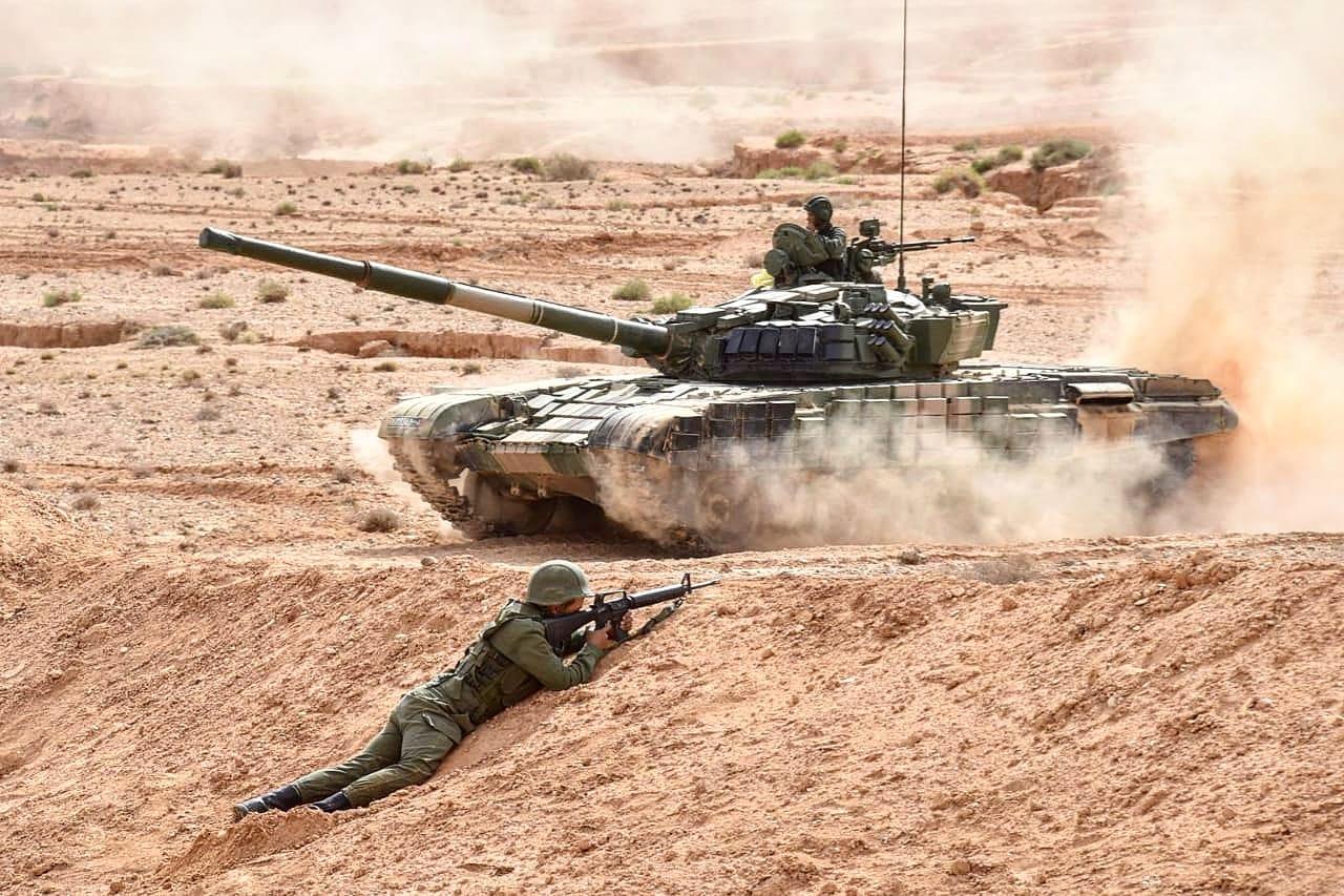 معسكر البوليساريو في مرمى نيران الجيش المغربي