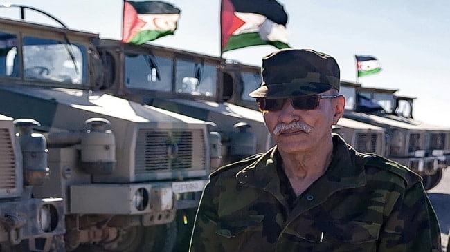 المدعو إبراهيم غالي زعيم البوليساريو