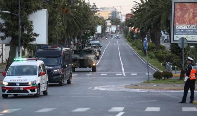 شوارع المغرب في زمن كورونا