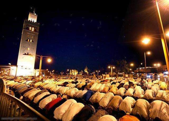 صلاة التراويح بالمغرب