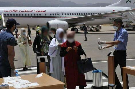 مكتب المطارات يعلن شروط دخول المملكة
