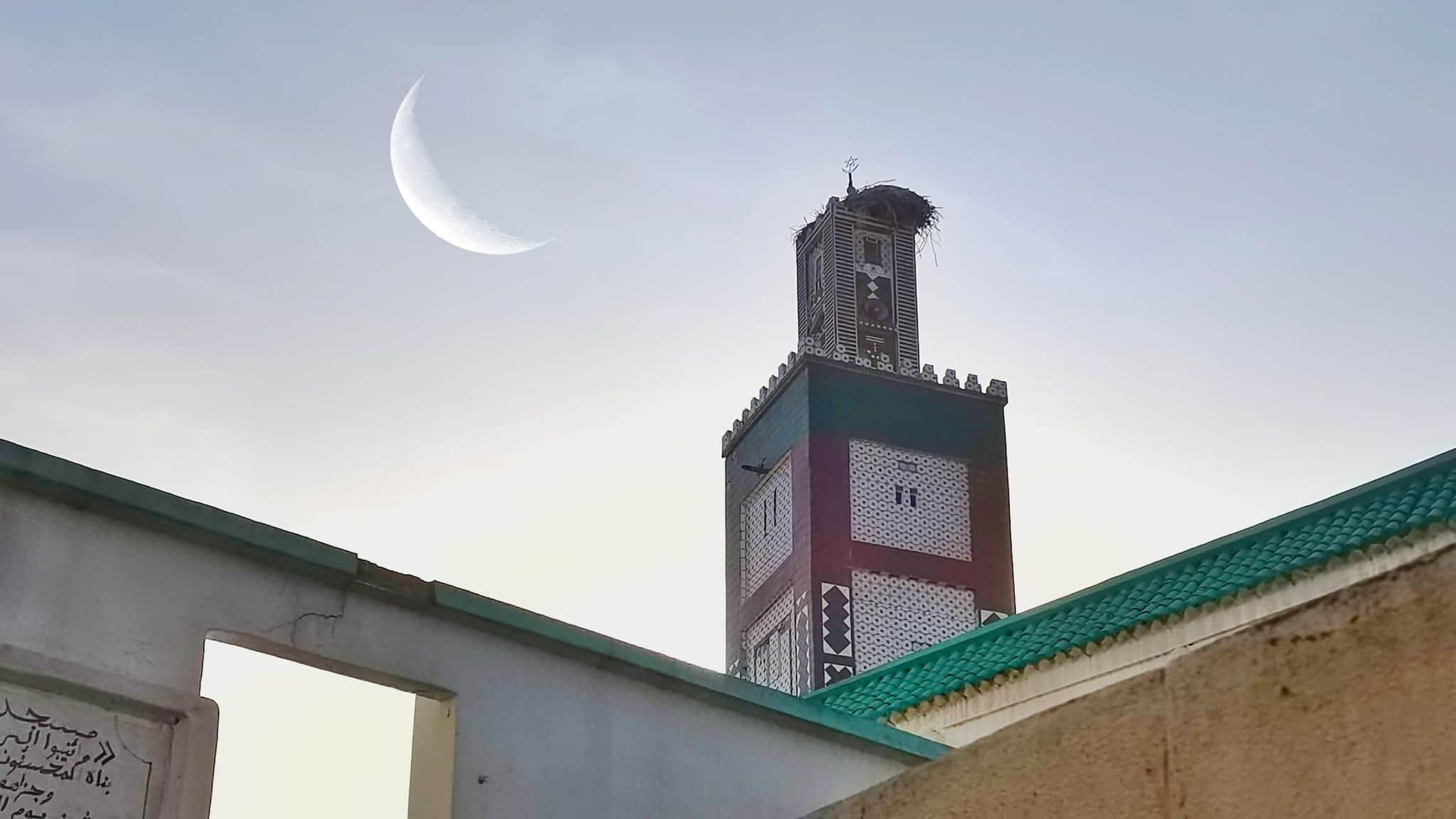 رؤية هلال عيد الفطر