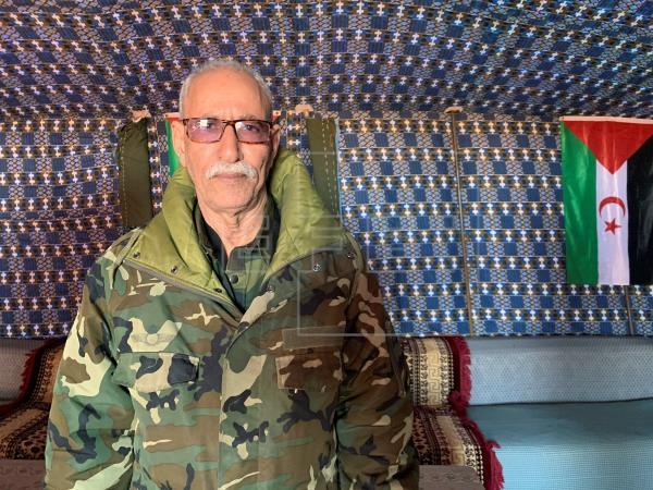 زعيم البوليساريو ابراهيم غالي