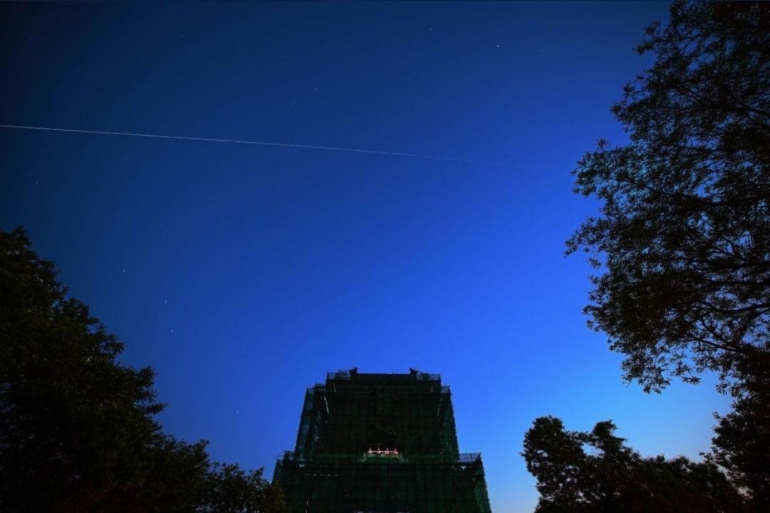أول صورة لصاروخ التائه