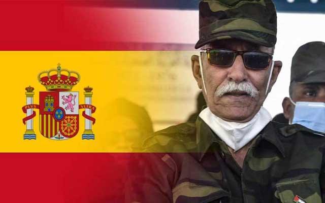إسبانيا وإبراهيم غالي