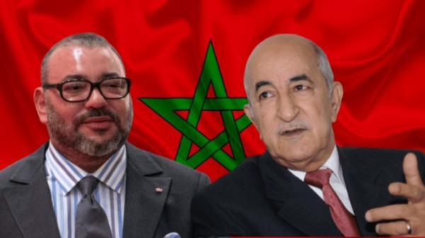 الملك محمد السادس والرئيس الجزائري