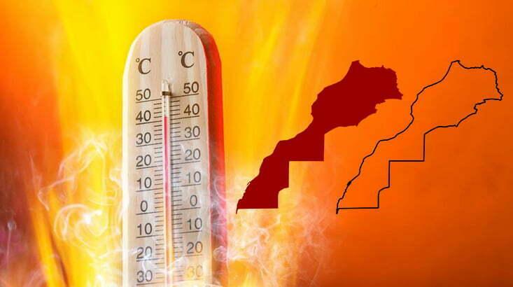 موجة حر تضرب المغرب