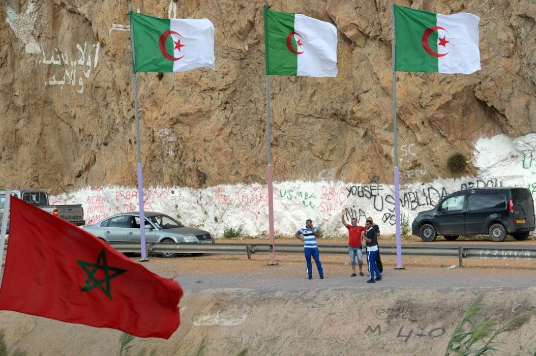 الحدود الجزائرية المغربية