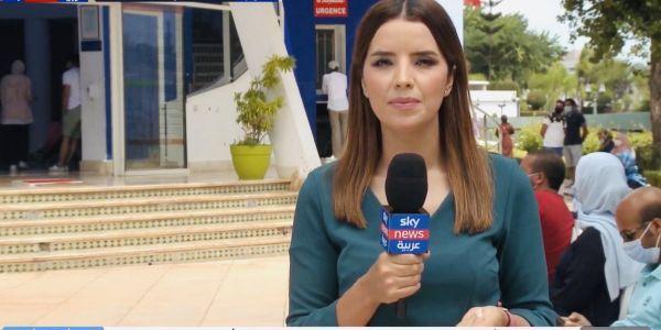 مراسلة سكاي نيوز بالمغرب